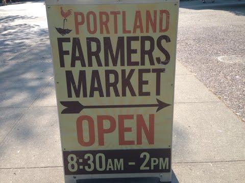 Portland Farmers Market, Portland, Oregon August 2, 2014