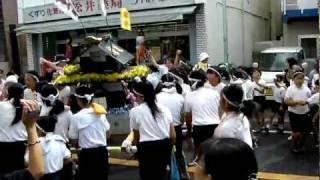 【よかっぺ祭り・小学生神輿】千葉県匝瑳市八日市場2011/10/16 thumbnail