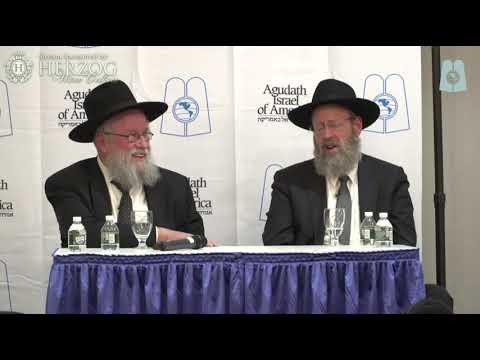 Rabbis Aaron Lopiansky \u0026 Elya Brudny Thursday Night At The 2019 Agudah Convention