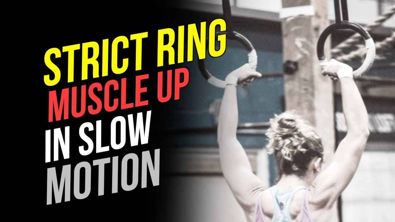 Ring Muscle Ups Slow Motion