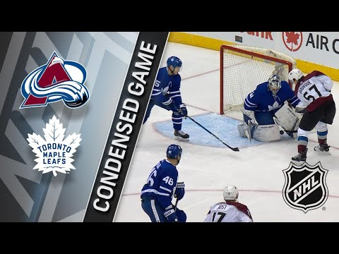 01/22/18 Condensed Game: Avalanche @ Maple Leafs