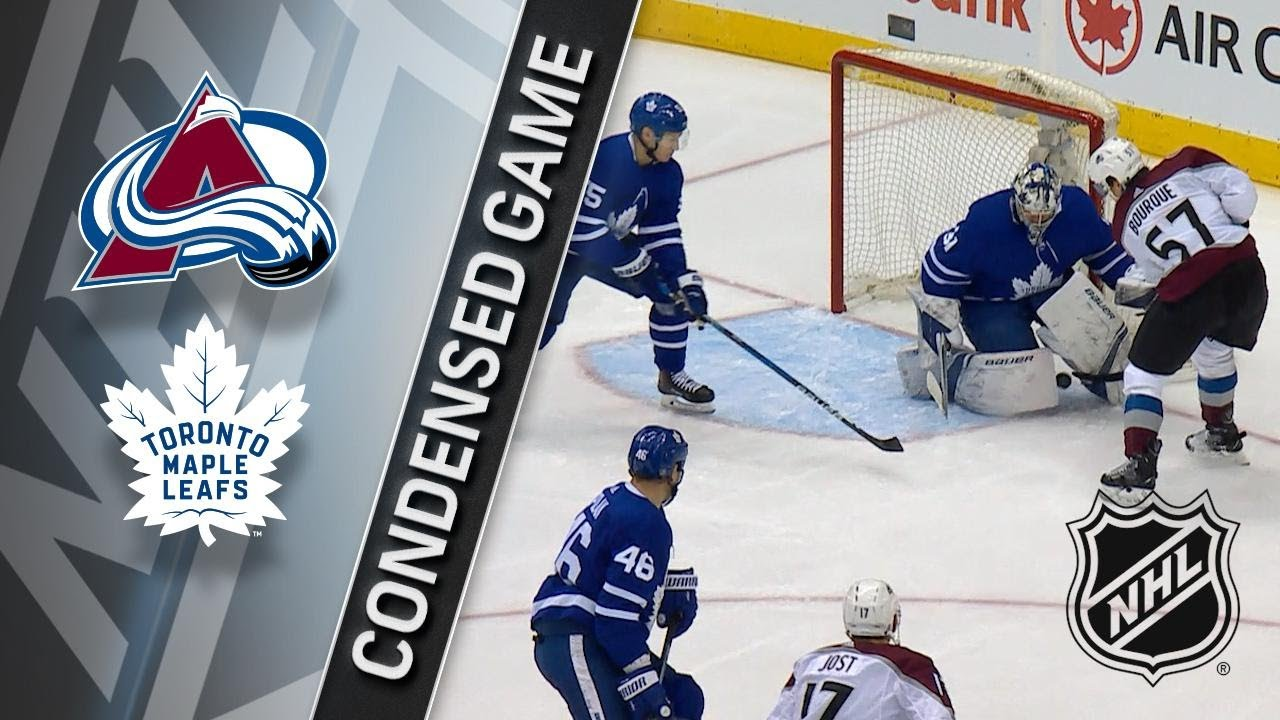 01 22 18 Condensed Game  Avalanche   Maple Leafs - YouTube da0efbcbe