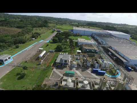 Vídeo aéreo Ball Corporation - Viamão RS
