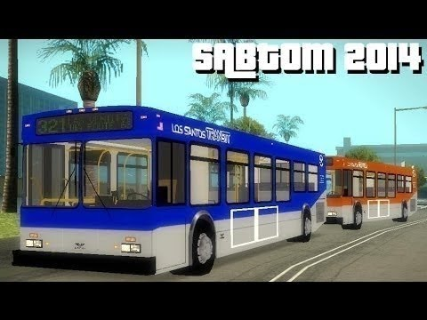 San andreas bus transit overhaul mod 2014 gta: san andreas mod.