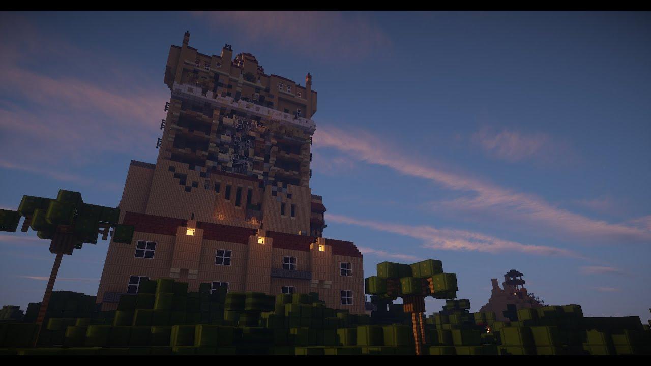 Minecraft Tower of Terror Disney World
