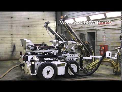 McDowell Equipment - 2013 CMAC Underground Longhole Jumbo Drill