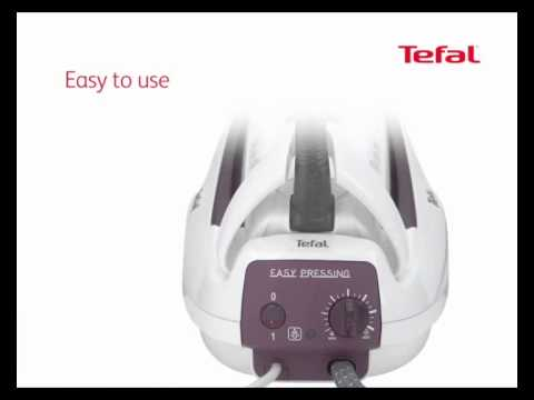 ferro de caldeira easy pressing da tefal youtube. Black Bedroom Furniture Sets. Home Design Ideas