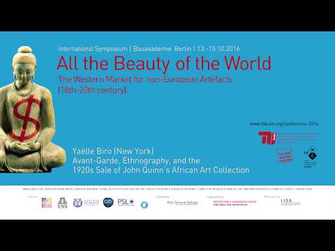 All the Beauty of the World - 07 Avant-Garde, Ethnography, and the 1920s Sale