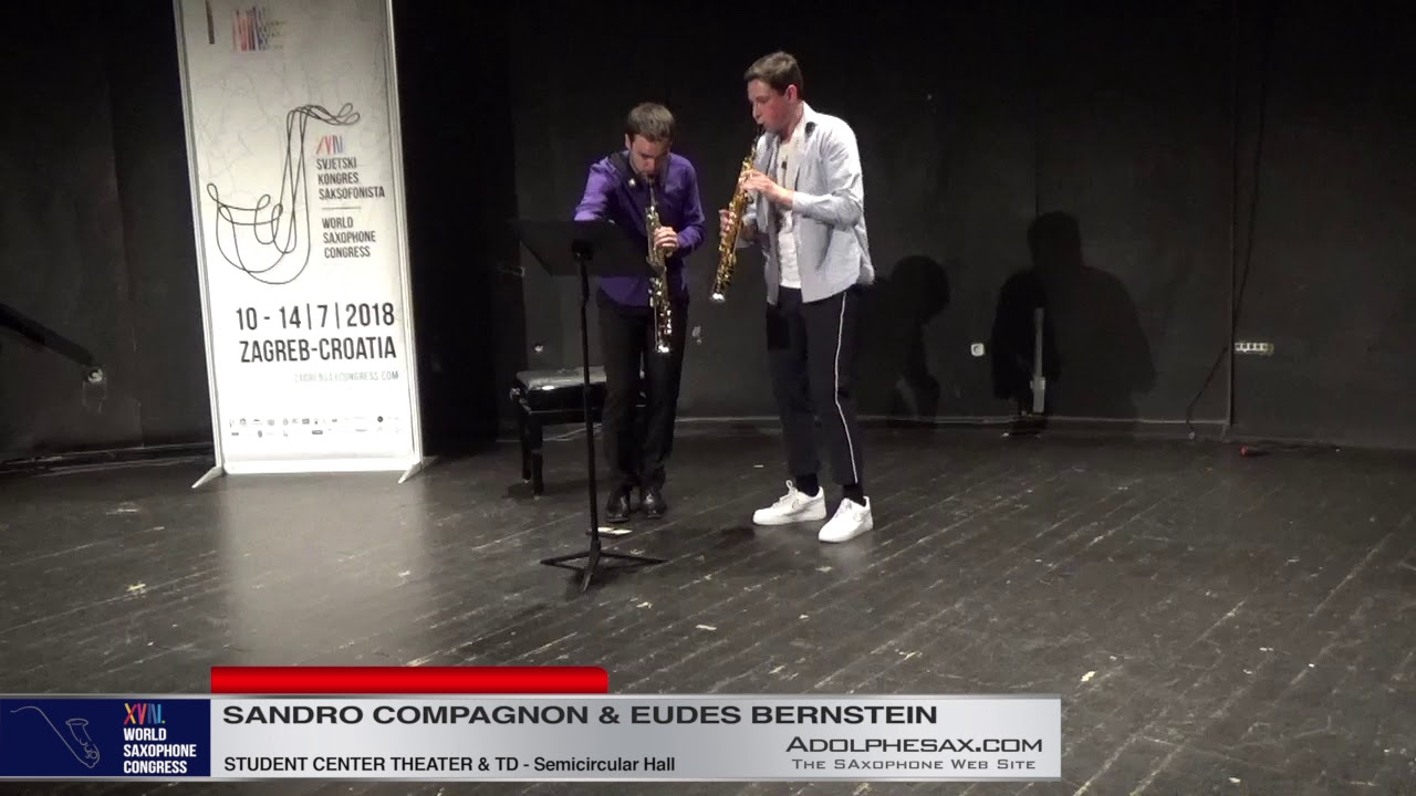 Terra Incognita by Jonathan Pontier  Sandro Compagnon & Eudes Bernstein   XVIII World Sax Congress 2