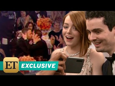 Thumbnail: Ryan Reynolds and Andrew Garfield's Hilarious Golden Globes Kiss: Emma Stone Reacts