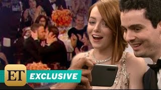 Ryan Reynolds And Andrew Garfield's Hilarious Golden Globes Kiss: Emma Stone Reacts