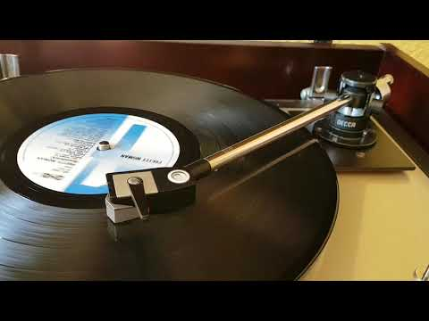 Decca london international tonearm with london brown cartridge