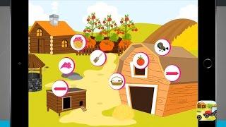 Animals Farm for Kids iPad App Demo - State of Tech