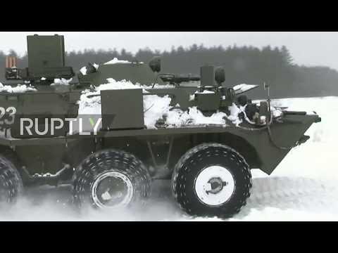 Russia: Chemical warfare drill begins in Kursk