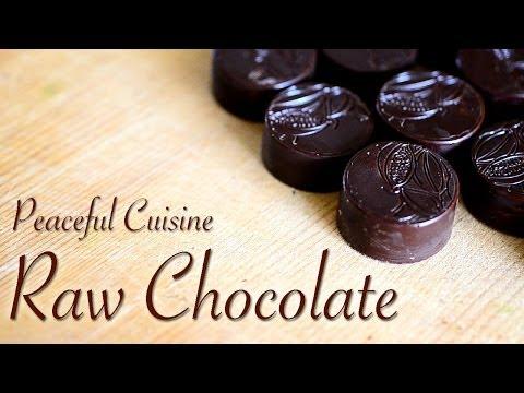 Raw Chocolate (raw vegan) ☆ ローチョコレートの作り方