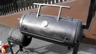 My Homemade BBQ Smoker