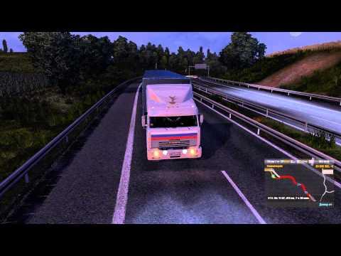 КАМАЗ-54115 из Дальнобойщиков в игре Euro Truck Simulator 2