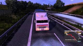 """КАМАЗ-54115 из """"Дальнобойщиков"""" в игре Euro Truck Simulator 2"""