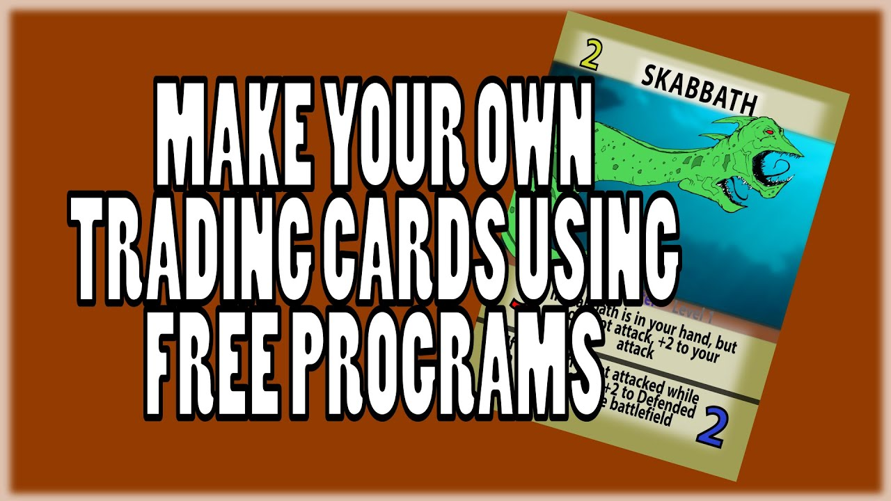 make your own tcg
