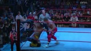 TNA Xplosion 01.09.10 - Amazing Red vs. Brian Kendrick vs. Jay Lethal vs. Douglas Williams