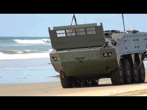 SAIC - AAV Survivability Upgrade & Terrex II 8X8 ACV [1080p]