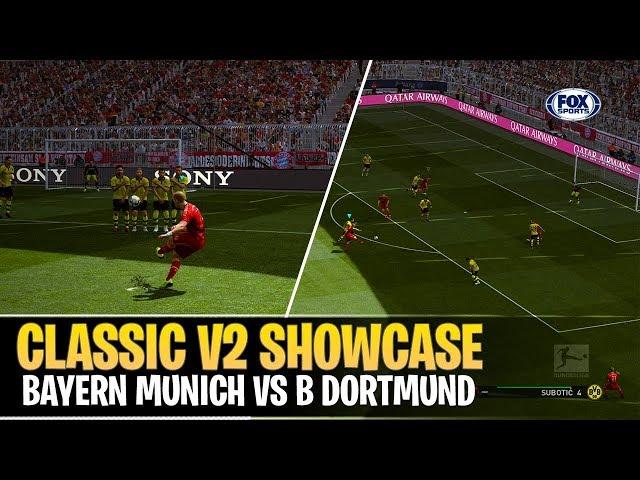 [TTB] PES 2019 - PES Universe Classic OF V2 Showcase - Bayern Munich vs Borussia Dortmund