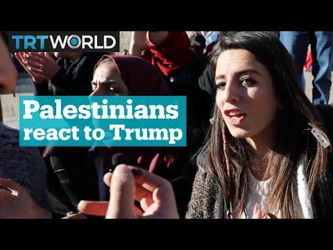 Palestinians react to Trump's Jerusalem move