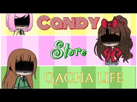 """Candy Store"" Gacha Life «Конфетный мир» клип Gacha Life (гача лайф) Candy Store Clip"