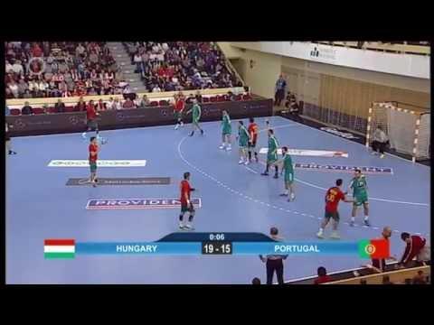 2016 Men's European Handball Championship Hungary Vs Portugal