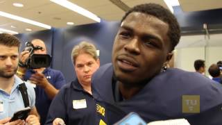 getlinkyoutube.com-Jabrill Peppers Media Day Interview and Expectations