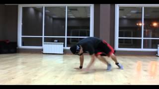 Def Cut - Street Level breaking freestyle by D-Man - Jazzer
