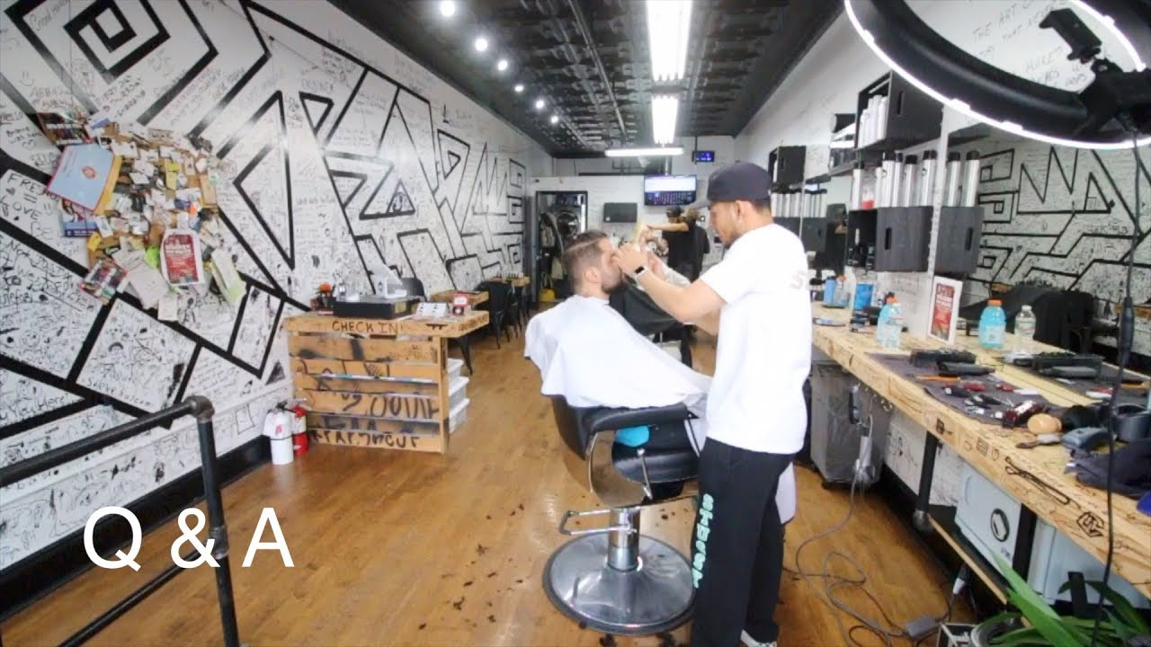 How I Cut Hair In A Barbershop Without My License  Q&A