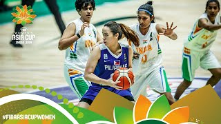 India v Philippines - Full Game - FIBA Women's Asia Cup 2019