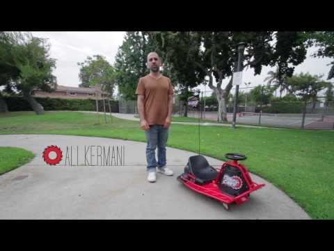 Đanh giá xe điện 3 bánh trẻ em Drift Razor Crazy Cart