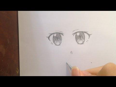 Cách vẽ mắt anime girl không khó