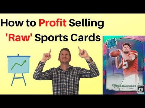 How To Buy & Sell Raw Sports Cards For Profit