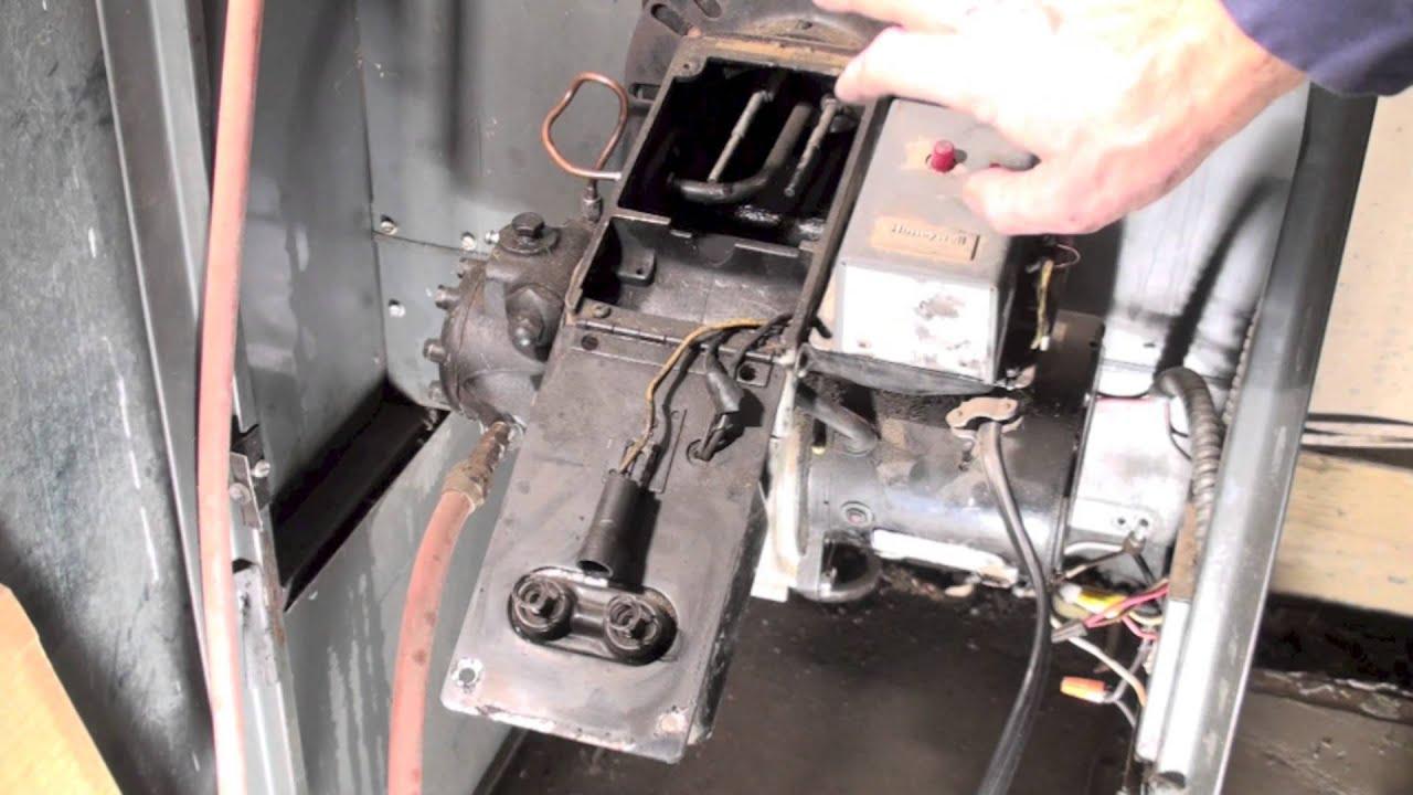 hight resolution of oil burner spark test