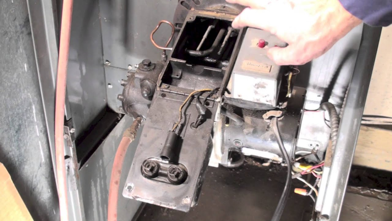 oil furnace parts diagram ford 9n wiring burner spark test youtube