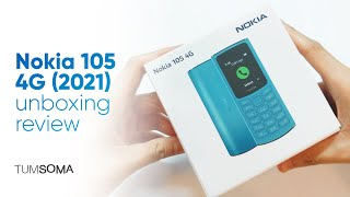 Nokia 105 4G (2021) Blue - Unboxing Review