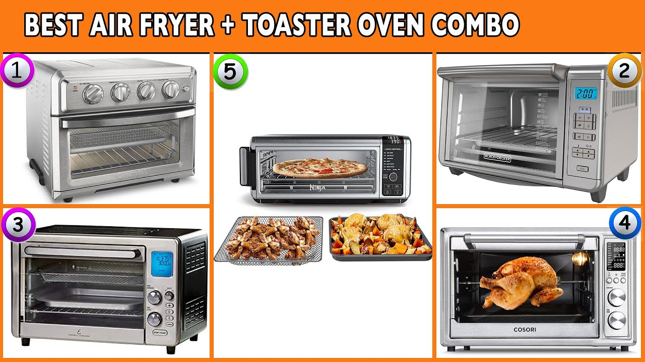 Best Air Fryer Toaster Oven Combo 2020 Reviews Youtube