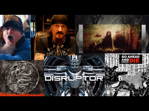 new Fear Factory, Disruptor - Go Ahead And Die, Toxic Freedom - Lacuna Coil - Opeth - King 810