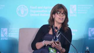 Dr. Ismahane Elouafi aт the global event on accelerating the end of hunger and malnutrition