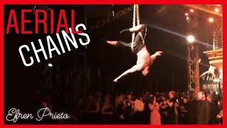 Aerial Chains - Efren Prieto - Bloomsbury Big Top - London
