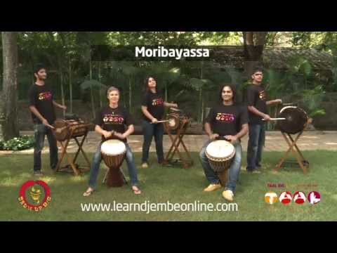 Moribayassa rhythm played by Indian and Australian drummers!