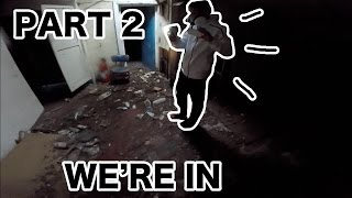 Exploring An Abandoned Club House   Part 2 (WARNING!)