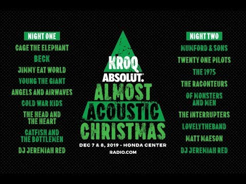 Kroqs Absolut Almost Acoustic Christmas 2020 KROQ Absolut Almost Acoustic Christmas 2019   Lineup Announcement