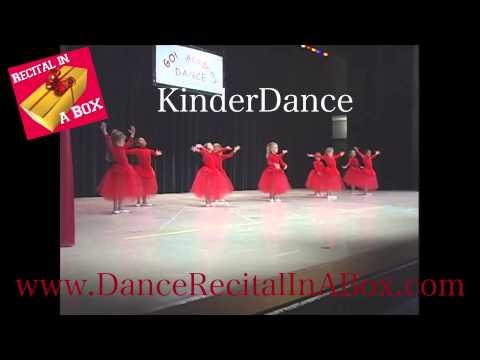 Dance Lady Dance Recital Theme - Commercial Clip