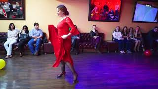 """Tangos, flamenco от студии танца """"Легенда"""". La fiesta de cumpleaños de la-escuela.ru"""