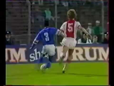 AFC Ajax (Amsterdam) -  Olympique de Marseille (France) КОК 1/2 2 матч 1988-04-20