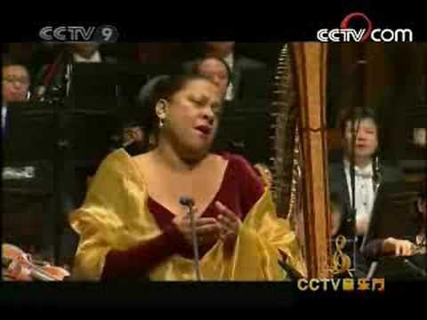 Kathleen Battle: O Mio Babbino Caro (6.2008) - YouTube